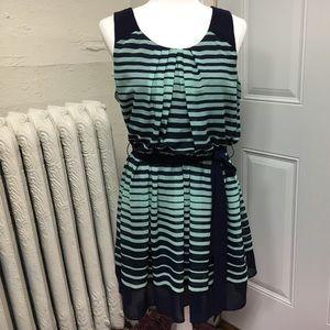 Cute striped sleeveless dress
